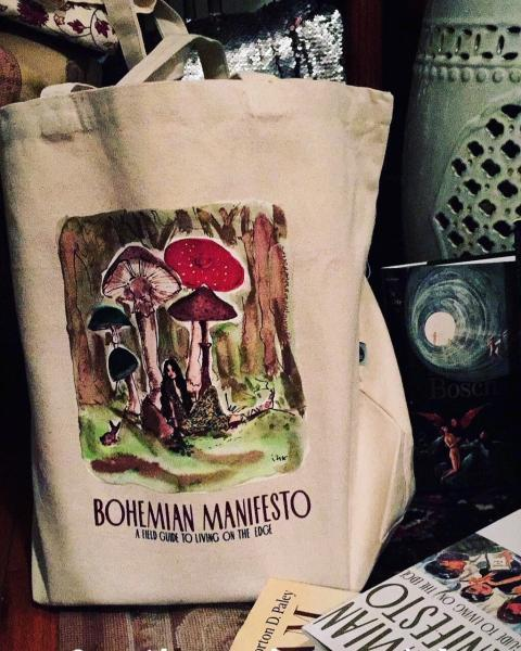 Free tote with book purchase